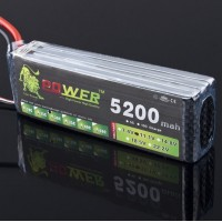 High Quality LION Power 11.1V 5200MAH 30C LiPo Battery BG707