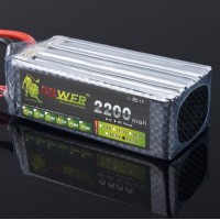 High Quality Rechargeable LION Power 22.2V 2200MAH 35C LiPo Battery BG715