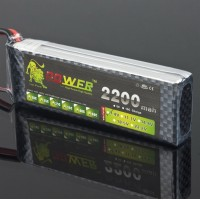 High Quality Rechargeable LION Power 7.4V 2200MAH 30C LiPo Battery BT679