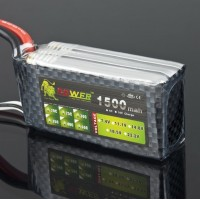 High Quanlity Rechargable LION Power 11.1V 1500MAH 35C LiPo Battery BT687