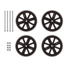 Gears & Shafts-Set of 4 for Parrot Ar.Drone 2.0 Ar.Drone 2.0-1