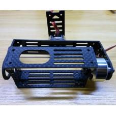 Mini Carbon Fiber Brushless Camera Gimbal Mount PTZ for GOPRO 3 Camera Simple Design
