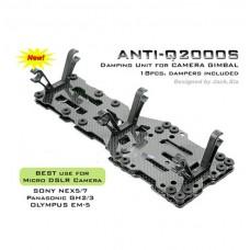 Helibest ANTI-Q2000S Anti-vibration Damping Unit Kit for MC6500PRO V1.0/2.0/3.0/4.0 Camera Gimbal