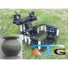ATG Fiberglass Camera Gimbal 2-Axis Tilt/Pan Photography Camera Mount PTZ for GOPRO 3 Camera