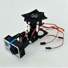 Gopro 3-Axis Camera Gimbal Free Installation 360 deg Universal Camera Mounting PTZ