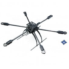 SIGMA Summit SS6 Long Flying Hexacopter  6-axis Carbon Fiber Aircraft FPV Multicopter Frame Kit