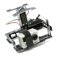 Helibest MC6500PRO V4.0 2-Axial Camera Mount Gimbal for Multicopter FPV Photography