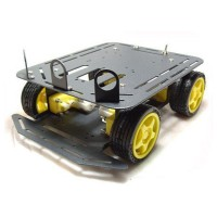 Baron - 4WD Chassis Mobile Platform Robot Car with Romeo and IR sensor