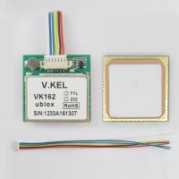 VK-162 GPS Module with SIRF3 Ceramic Antenna TTL/USB Signal
