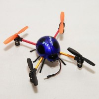 2.4G 4CH Ladybug Mini RC Quadcopter 6-Axis 3D UFO Aircraft Blue with Transmitter