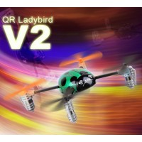 Walkera QR Ladybird V2 version Mini UFO Aircraft Quadcopter with DEVO 4 TX Transmitter