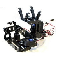 Xaircraft x650 CM130C-TPS Two Axis Camera Mount with 3pcs Servo
