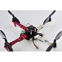 Z450 Quadcopter Frame Kit Airframe MultiCopter as DJI F450 with Tall Landing Skid