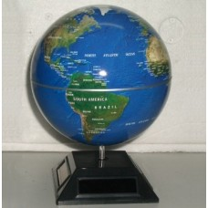 Solar Powered Automatic Rotating Globe with Light Effect