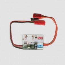 GWS GW/PHA-300 PHA-300 3 in 1 Pico Heli Board Gyro Mixer & ESC On EP Helis JR