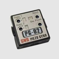 GWS GW/PG-02 PG-02 Dual-Rate Piezo Gyro w/ Universal Connectors