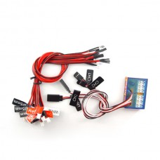 G.T.POWER 12 LED RC Car Flashing Light System