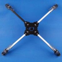 KK MK X600 Quadcopter Folding Frame Aircraft Multi RC Heli Fiber Glass 600mm Wheelbase