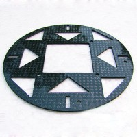 3K Twill Carbon Fiber Fixing Plate Board Protect Board for Quad Hex-Copter