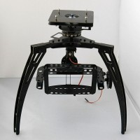 Three Axis Synchronous Belt Drive Aerial PTZ Glass Fiber Pan/Tilt/Zoom Camera Mount