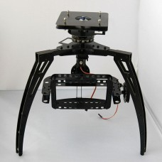 Three Axis Synchronous Belt Drive Aerial PTZ Glass Fiber Pan/Tilt/Zoom Camera Mount