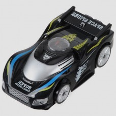 Black Space Spider Remote Control Mini Wall Climbing Toy Car