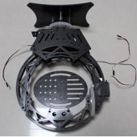Game BY3-3 Three Axis Aerial Garbon Fiber Head Camera PTZ