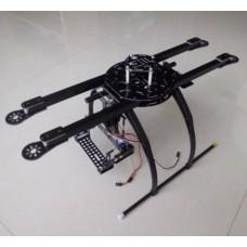 ATG 550 X4 Fiber Glass Folding Frame Tall Landing Skid Quad Multi-copter