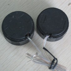500W DIY Modified Mini Speakers for Car Black Car Speaker TP-005