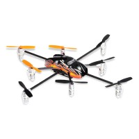 Walkera QR Spacewalker 8 Blades UFO - Y8 + WK-2402-D Orange Black