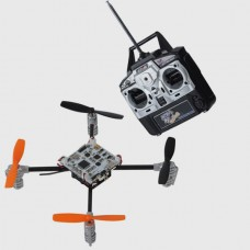 Humminingbird Mini Quadcopter Assembled ARF Aircraft Quad-rotor Micro UFO with TX Transmitter