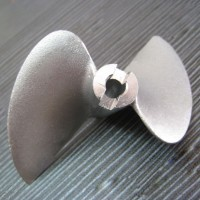 "2 Blade 470 Stainless Stell Propeller 1/4"" shaft for RC Boat"