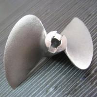 2 Blade 470 Stainless Stell Propeller 5mm Shaft for RC Boat