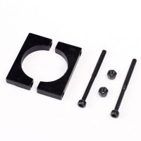 22mm Fiber Glass Carbon Tube Fixture Aluminum Part for Quadcopter Multicopter