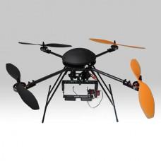 LOTUSRC T580P+ Quadcopter ARF Folding Aircraft Assembled with Camera Mount Aluminum Case