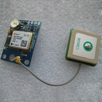 GPS Receiver u-blox NEO-6M Module with Antenna USART TTL & IIC Interface for FC