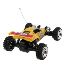 Super Rodeo Kart Racer with Radio Controller(RTR) Yellow 1:52 Scale
