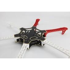 DJI F550 Airframe Hexa Frame HexaCopter White/Red Support KK MK MWC