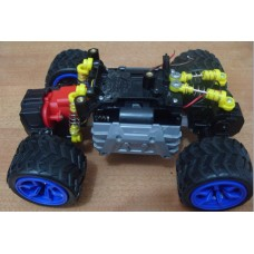 Voice Control Car Chassis DIY Robot Tracking Car