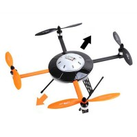 Walkera MX400 UFO Quadcopter With Aluminum Case- Basic Body Only