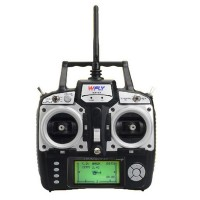 2.4G WFT07 Transmitter and Receiver Set with Double Battery Imax B6AC Charger for Multicopter