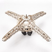 Elegant Design Wooden UFO-550 KK MK Quadcopter Multicopter Frame Kit