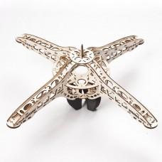 Elegant Design Wooden UFO-550 KK MK Quadcopter Multicopter Frame Kit