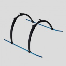Repair and Replacement Parts Aircraft Stander for Helicopter Multicopter Black & Blue