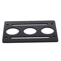 XAircraft X650 V4 V8 Parts F3005C Battery Mounting Plate Carbon Fiber