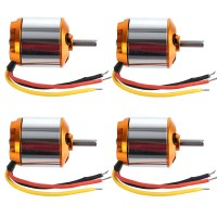 2217-9 950KV Brushless Outrunner Motor for Helicopter Quadcopter Multicopter 4-Pack