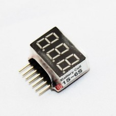 1S-6S High Precision 2.8V- 25.2V GE Power Portable Digital Lipo Battery Meter Voltage Displayer