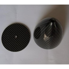 """2"""" inch Carbon Fiber Spinner for RC Airplanes rc Aircraf 3K Gloss Finish 2 Blade"""