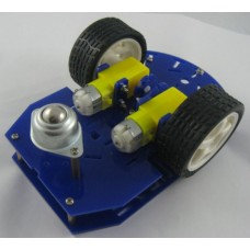 2-Wheel Arduino Robot Chassis (with 2x Speed Encoder)