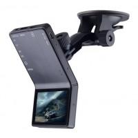F1000 1080P Wide Angle Car DVR Camcorder Mobile-i BlackBox Night Vision AV HDMI Black